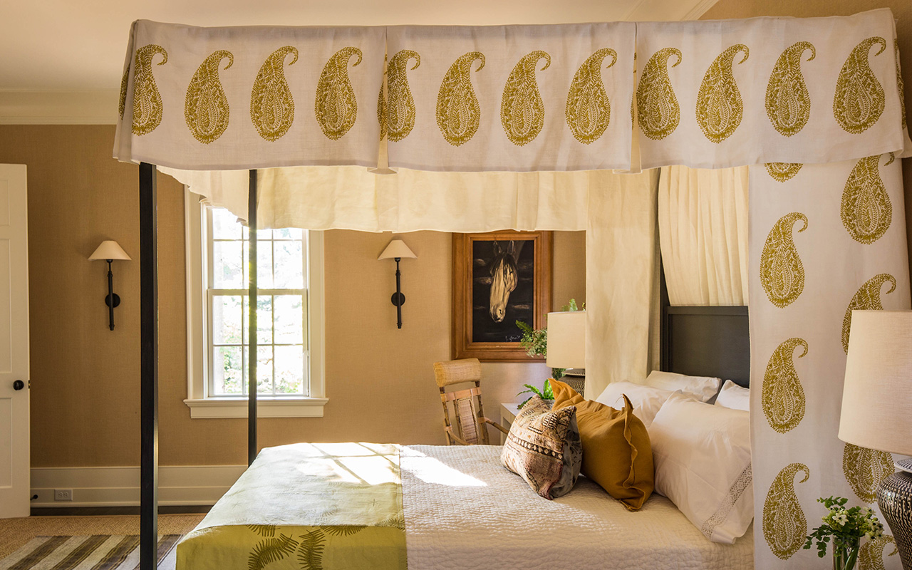 Master Bedroom In The Southern Living Idea House Photo Credit Laurey Glenn