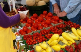 The Mt Laurel Farmer's Market gives residents easy access to fresh fruits and vegetables.