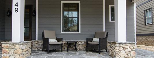 Model Home Porch