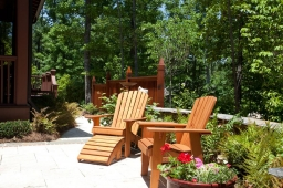 Nestled within nature, Mt Laurel homes offer lush, verdant surroundings.