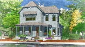 Redbud Cottage Exterior