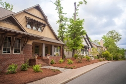 Take a stroll along Mt Laurel's wide sidewalks.